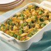 Campbell's Kitchen Chicken Broccoli Divan Recipe - This saucy classic pairs cooked chicken or turkey with broccoli in a cheesy sauce, which stirs together easily. Bake until piping hot and serve with hot biscuits or noodles.