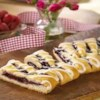 Raspberry Breakfast Braid Recipe - When it's fresh out of the oven, this raspberry filled coffee cake smells as good as it tastes.