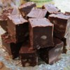 Irish Cream Truffle Fudge Recipe - This is 'wicked good' stuff! This creamy sweet confection will disappear as fast as a wink.