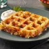 Shonna's Waffle Browns Recipe - Repurpose your waffle maker and wake up your mouth with this zesty recipe for Waffle Browns to start your day.