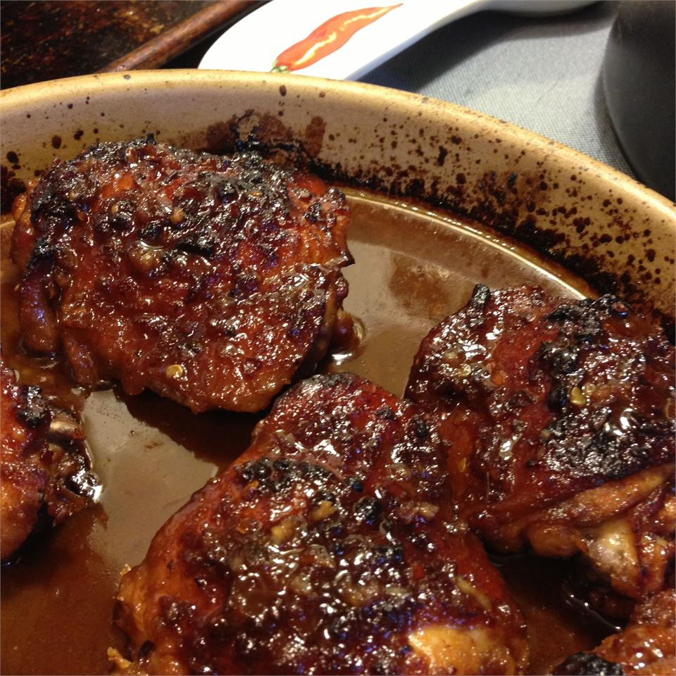 Asian Glazed Chicken Thighs Toby Whitehead