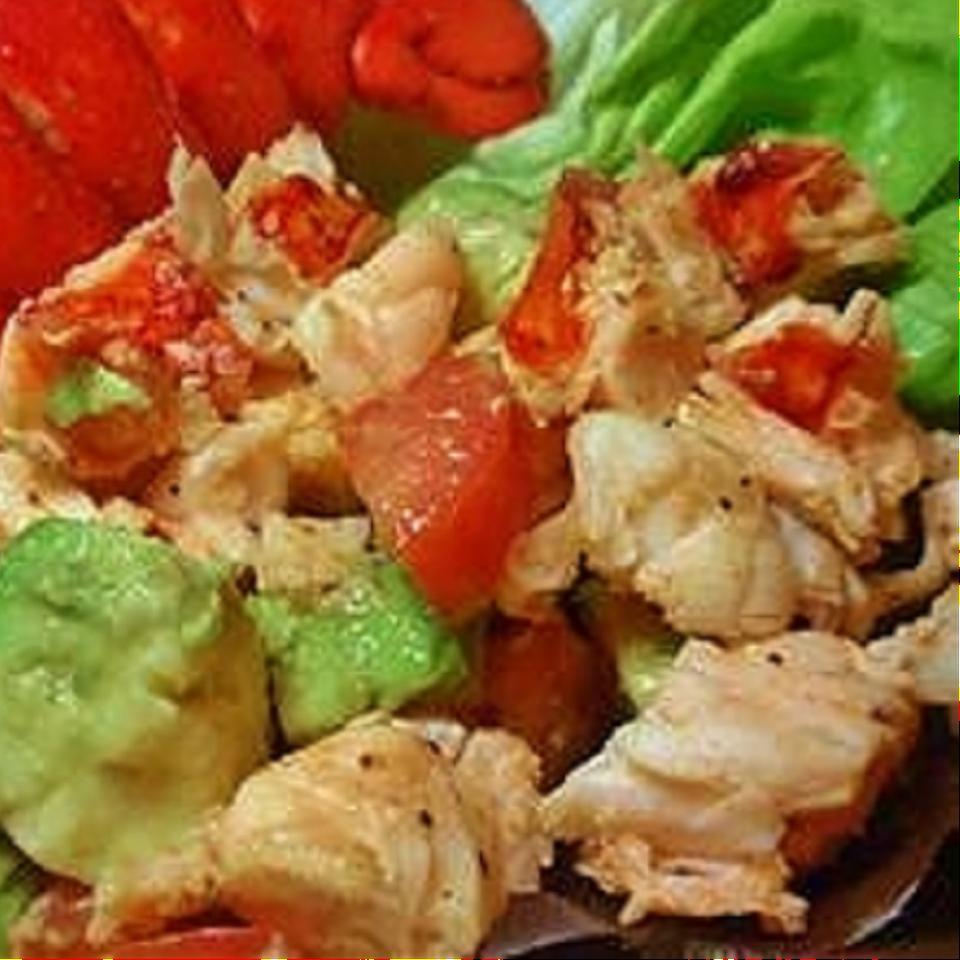 Avocado and Lobster Salad Juanita