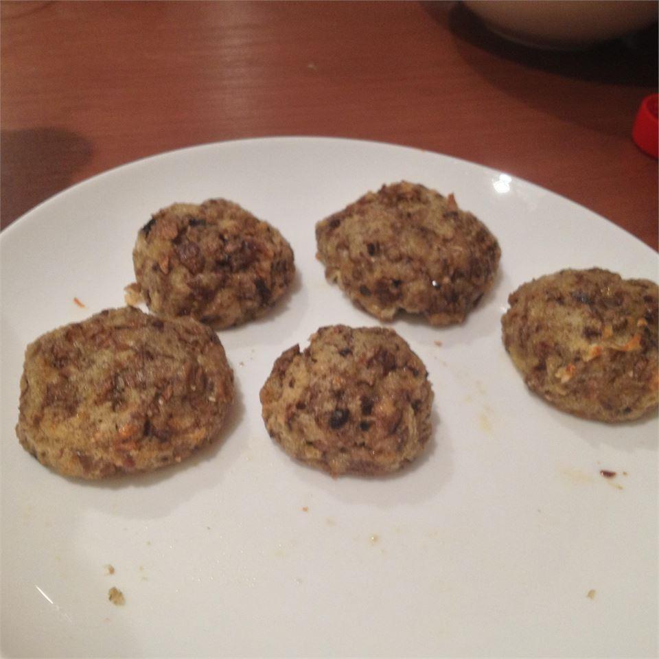 Mushroom Stuffing Balls Kelly Confer