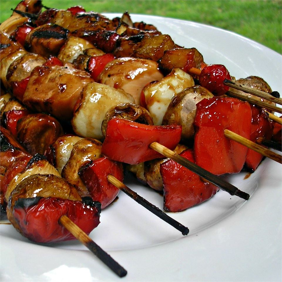 Slayer's Sweet, Tangy, and Spicy Kabobs Snacks