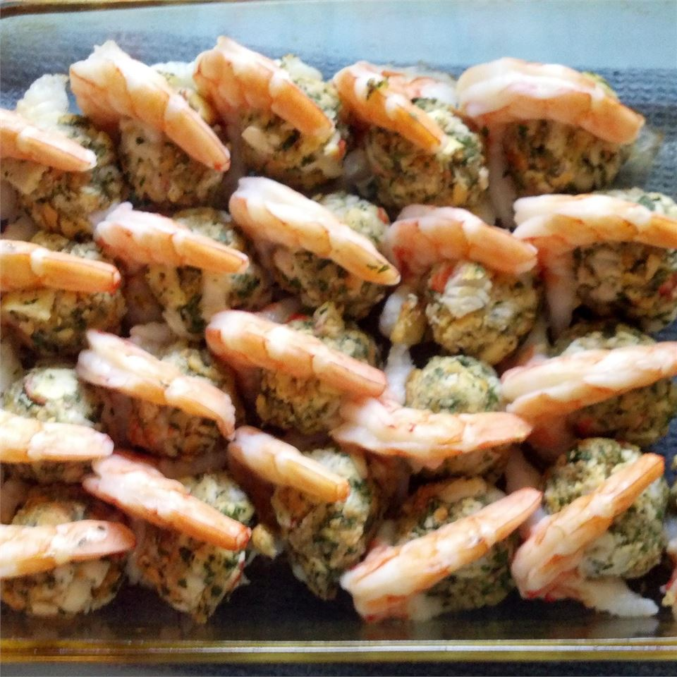 Baked Stuffed Shrimp with Ritz Crackers(R)