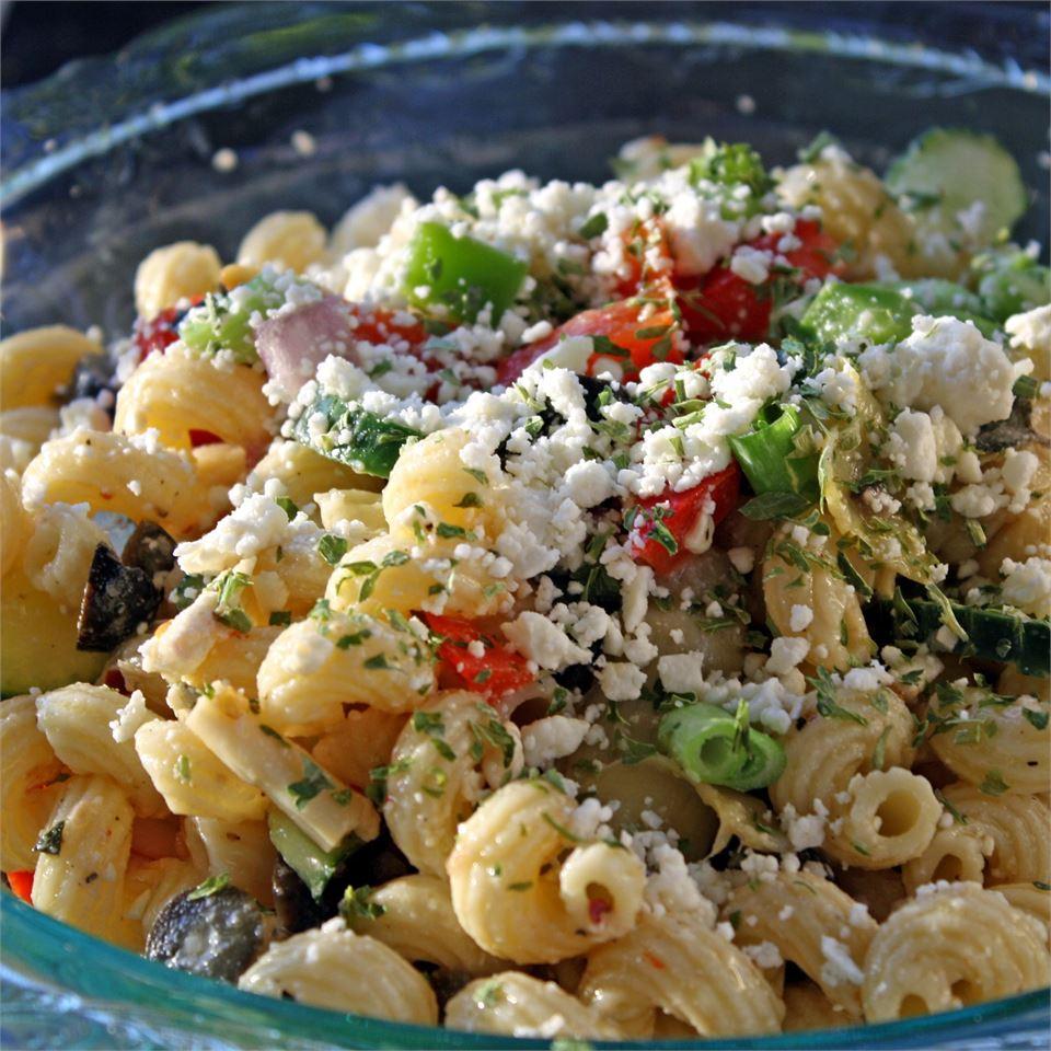 Greek Pasta Salad_image