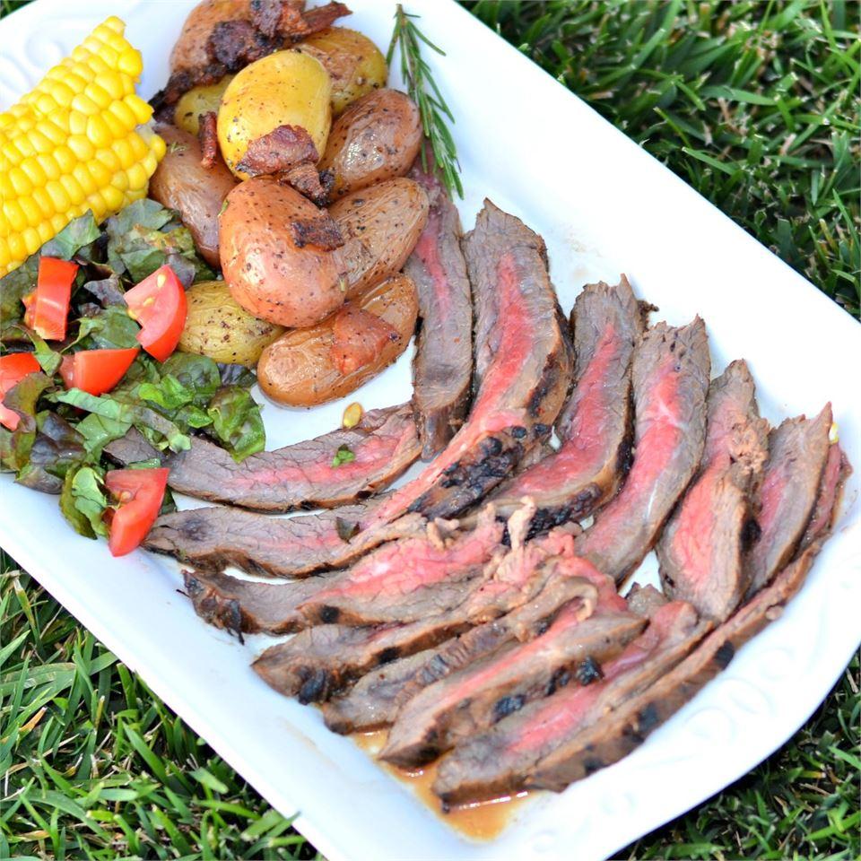 Overnight-Marinated Flank Steak
