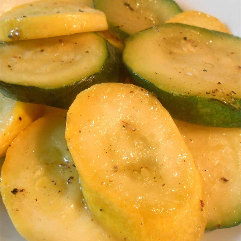Grilled Squash and Zucchini RainbowJewels
