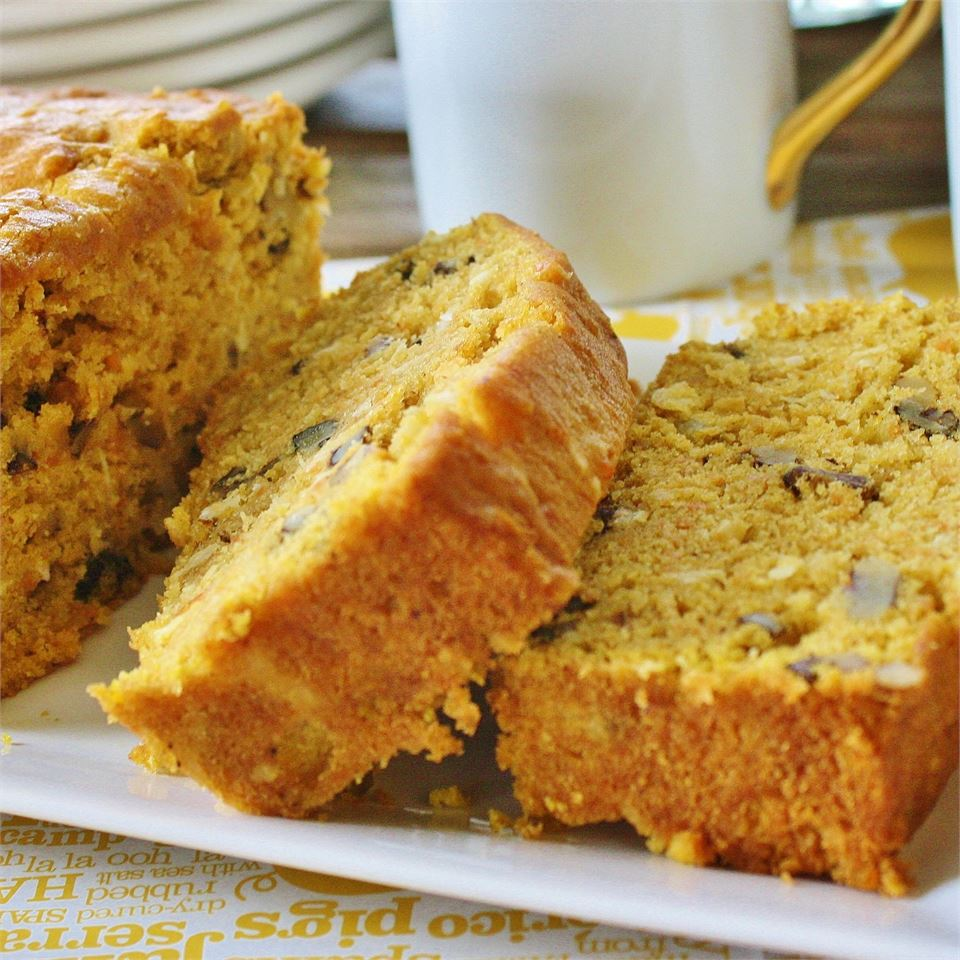 Sweet Potato and Coconut Bread Maybelle Miller