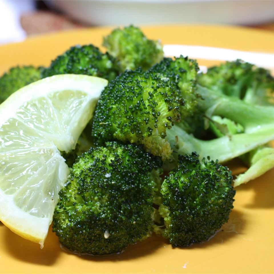 Broccoli in Roast Chicken Drippings Kristin