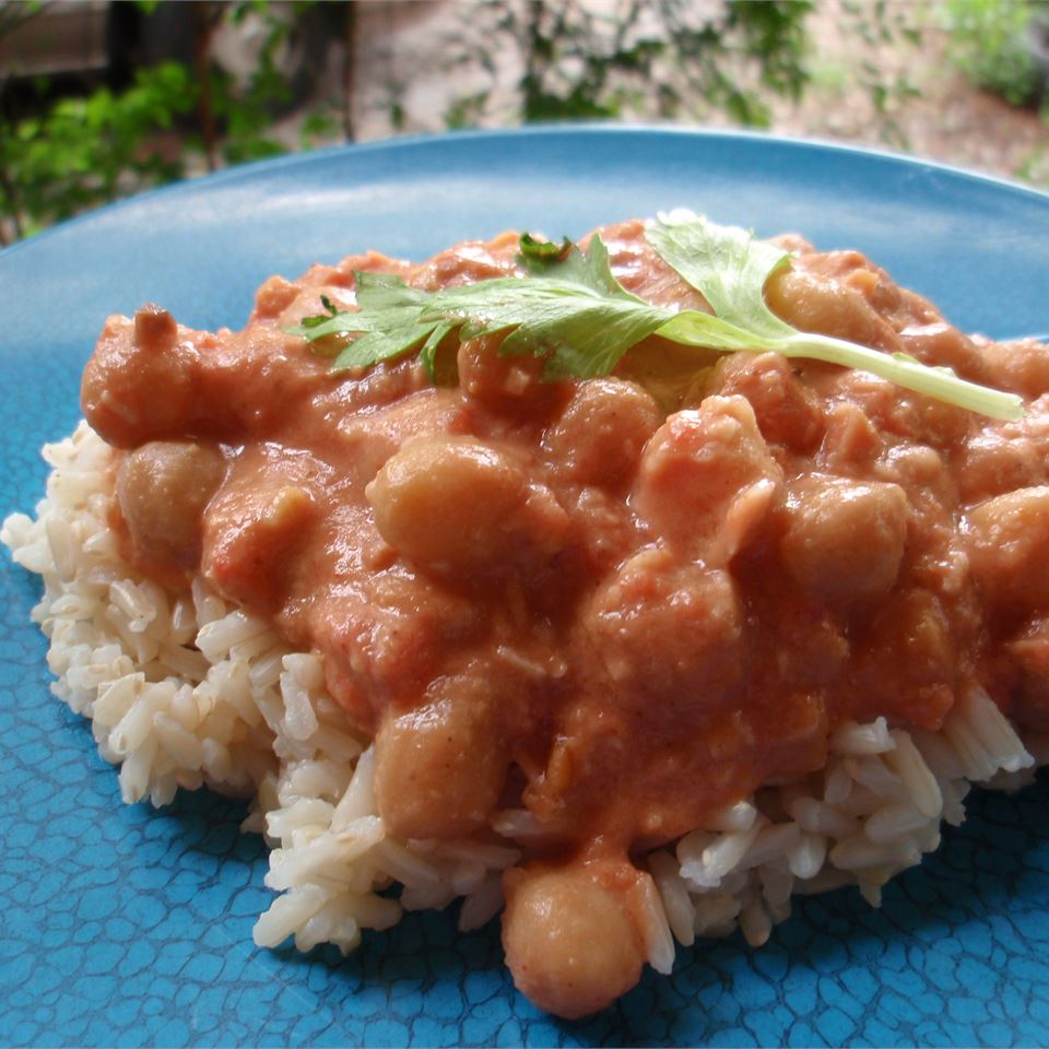 Peanut-Ginger Chickpea Curry HahnSolo