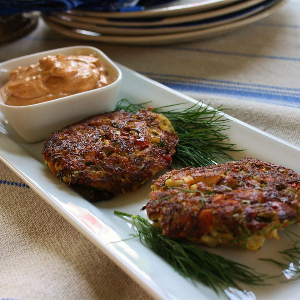 Cajun Crab Cakes (No Breadcrumbs) Tracy