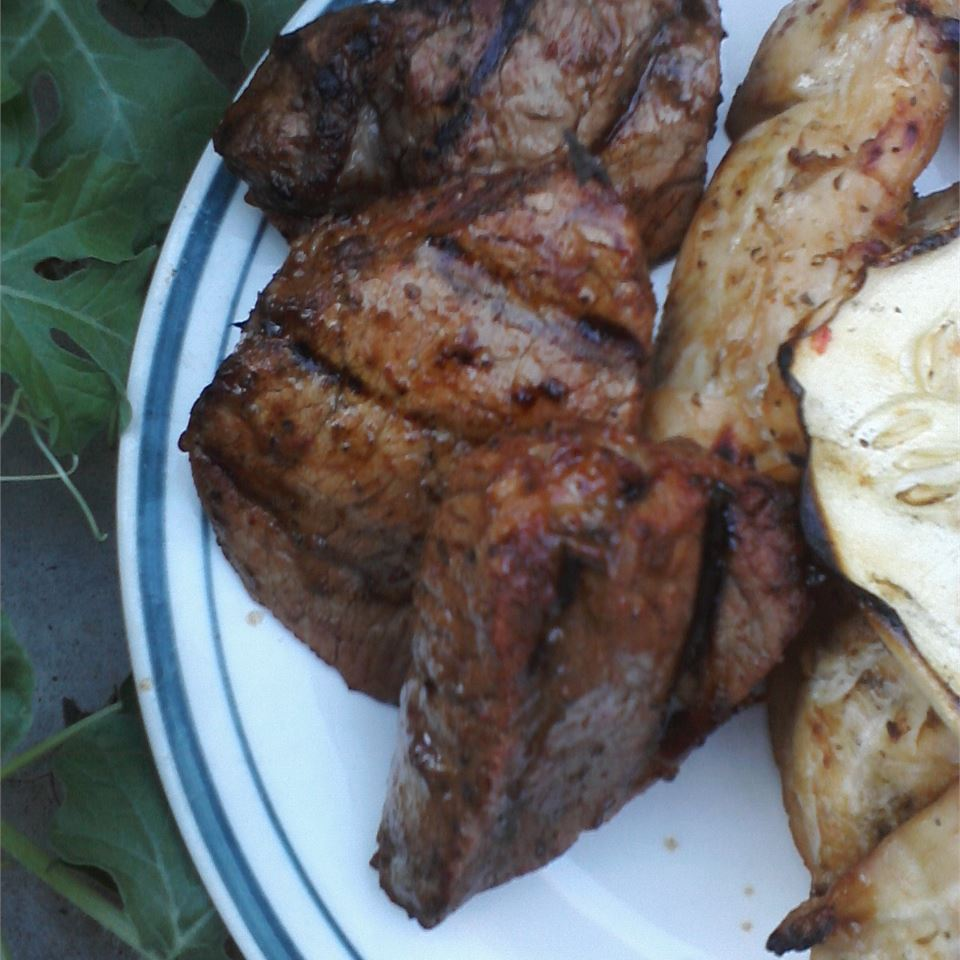 Tangy Grilled Beef