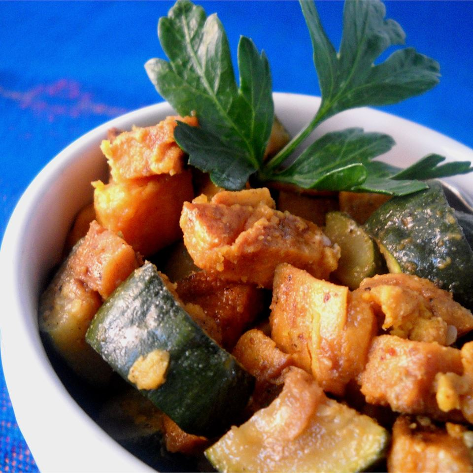 Sweet Potato Zucchini Hash jerecar