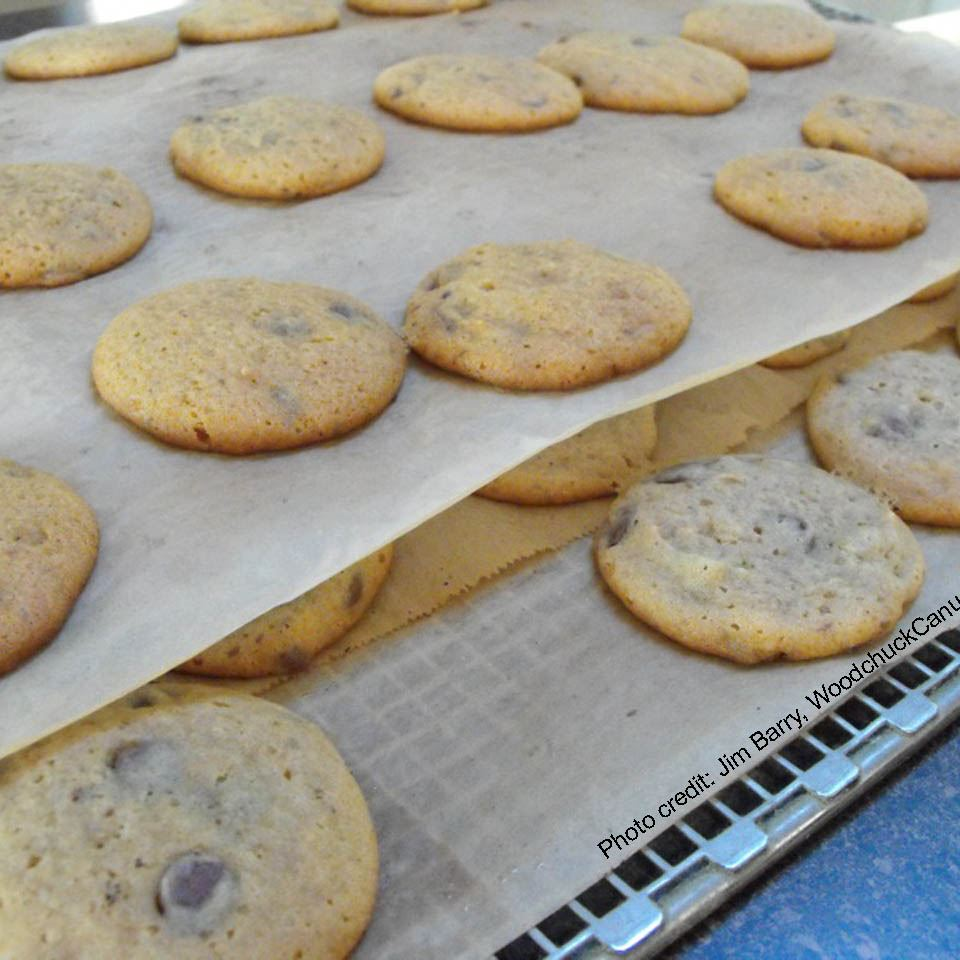 Giant Toffee Chocolate Chip Cookies image