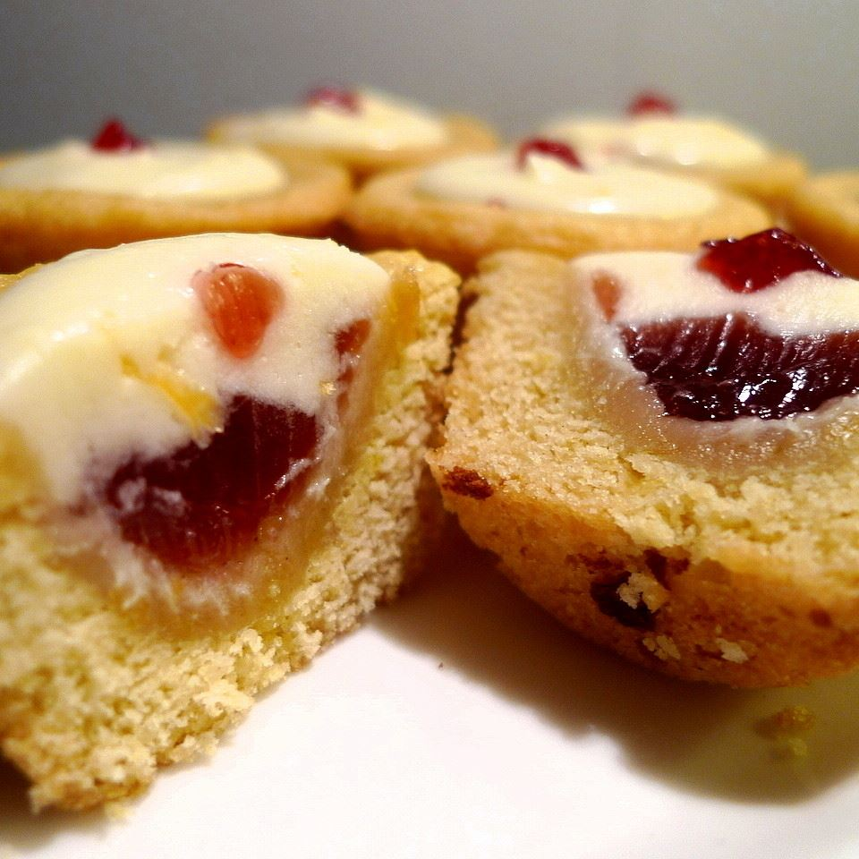 Lemon Raspberry Cookie Cups