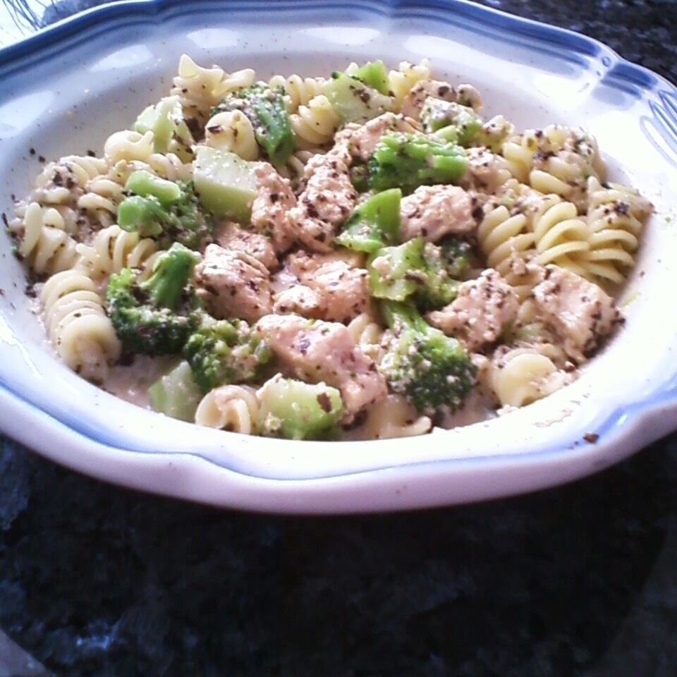 Basil Chicken and Pasta Stacey Adkins