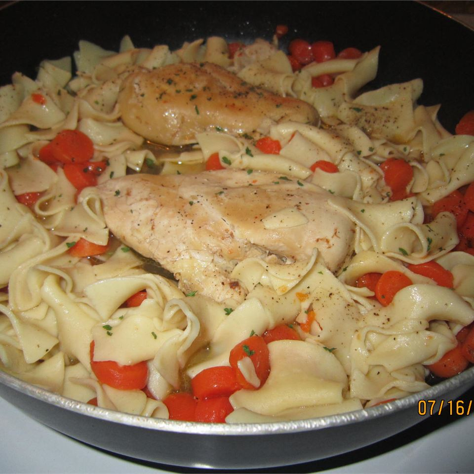 Golden Chicken with Noodles from Birds Eye(R) Faith Nettles