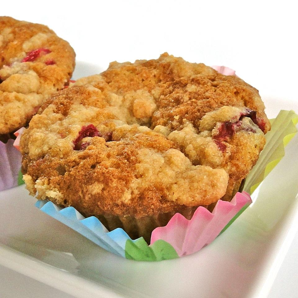 Farm Fresh Zucchini Cranberry Nut Muffins