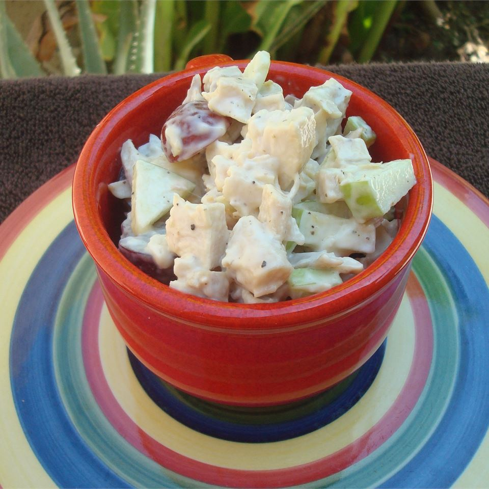 Chicken Salad with Grapes and Apples aravis121