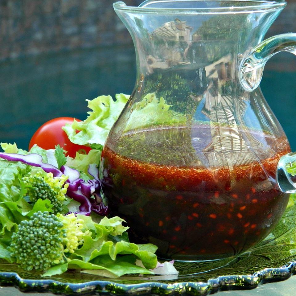 Fresh Raspberry Balsamic Vinaigrette_image