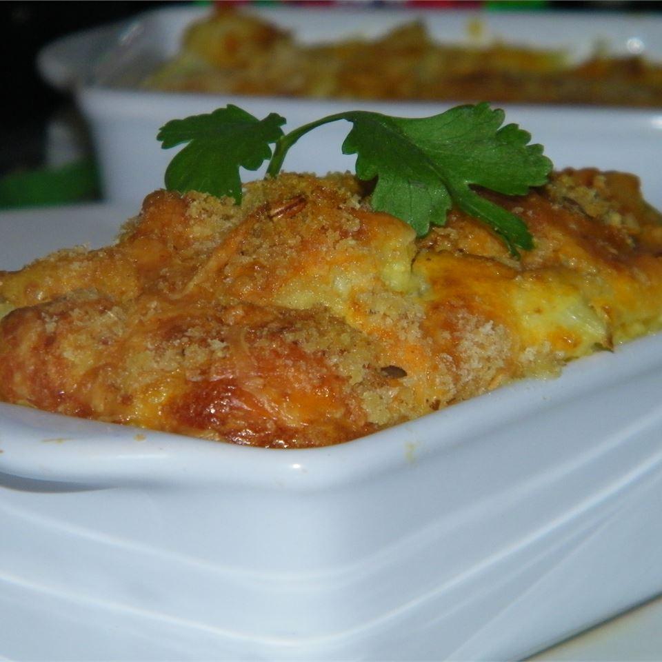 Puffed Cauliflower Cheese