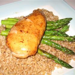 Chicken Teriyaki with Asparagus Cindy M