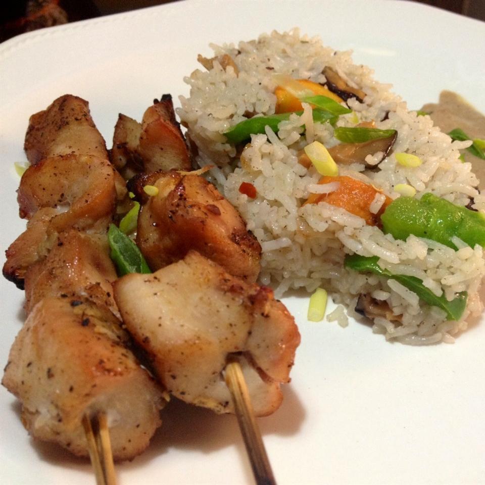 Easy Chicken Satay Nkem