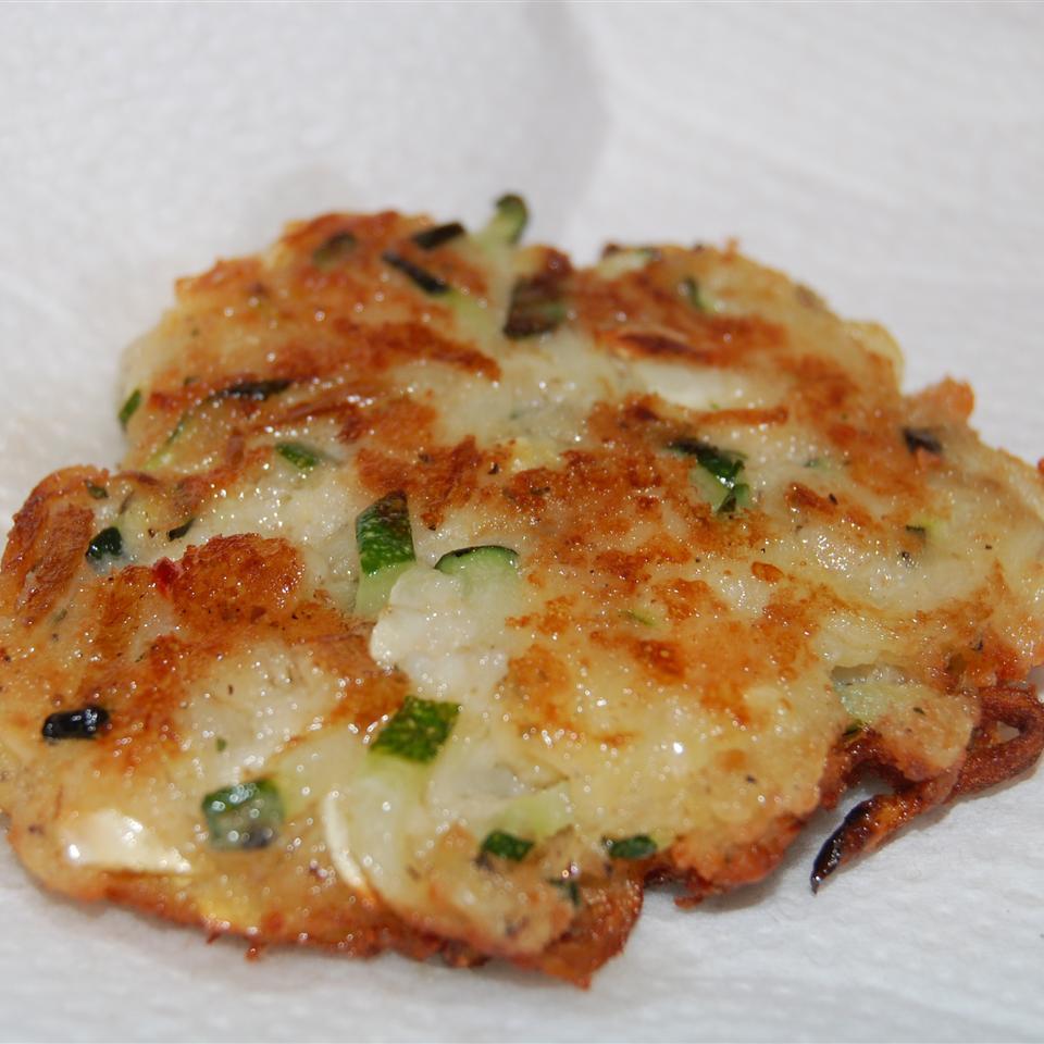 Zucchini and Feta Cheese Fritters (Kolokithokeftedes)