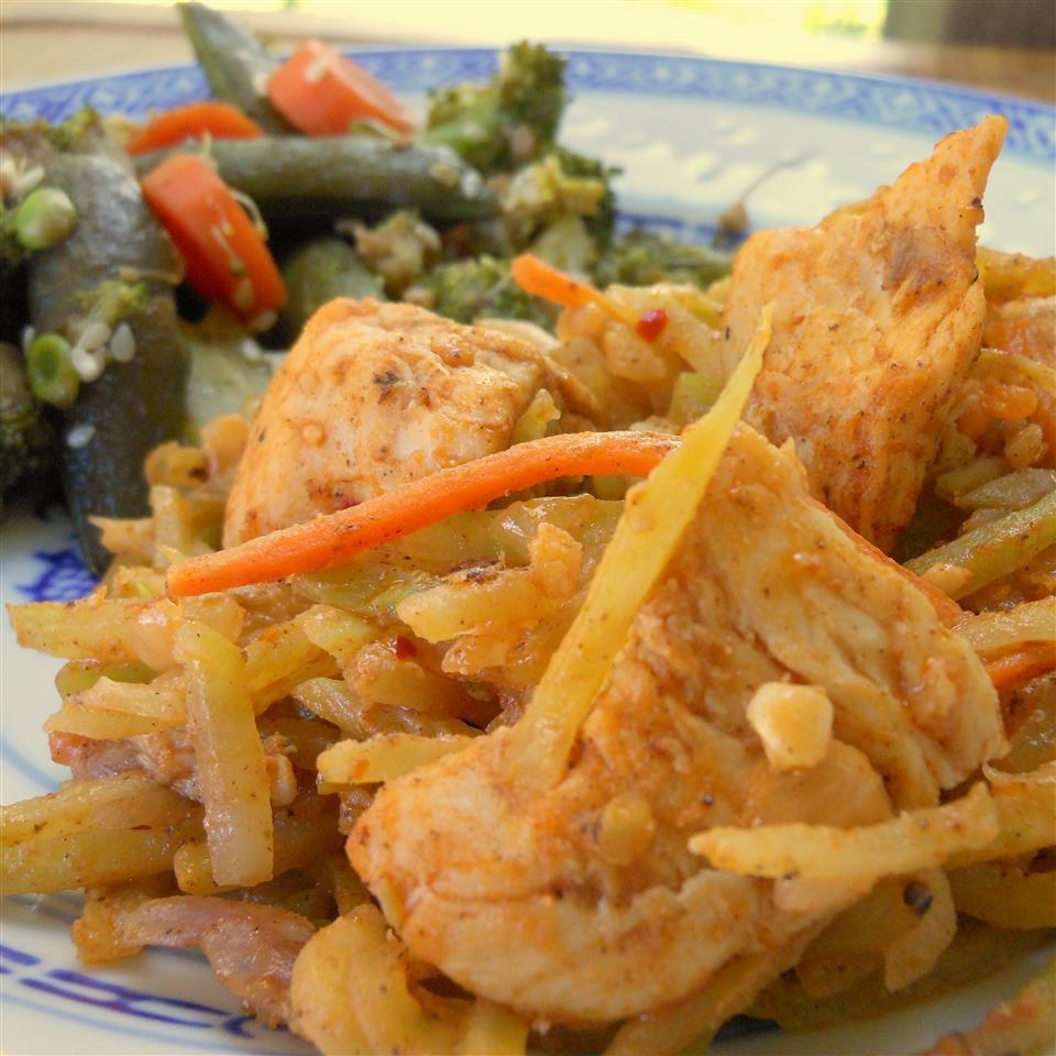 Thai Chicken Broccoli Slaw