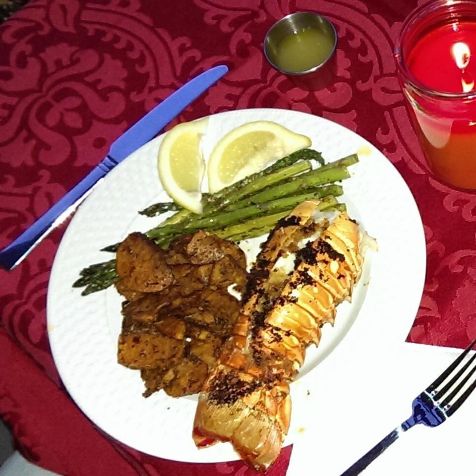 Orange-Scented Grilled Lobster Tails Mrs. Jones