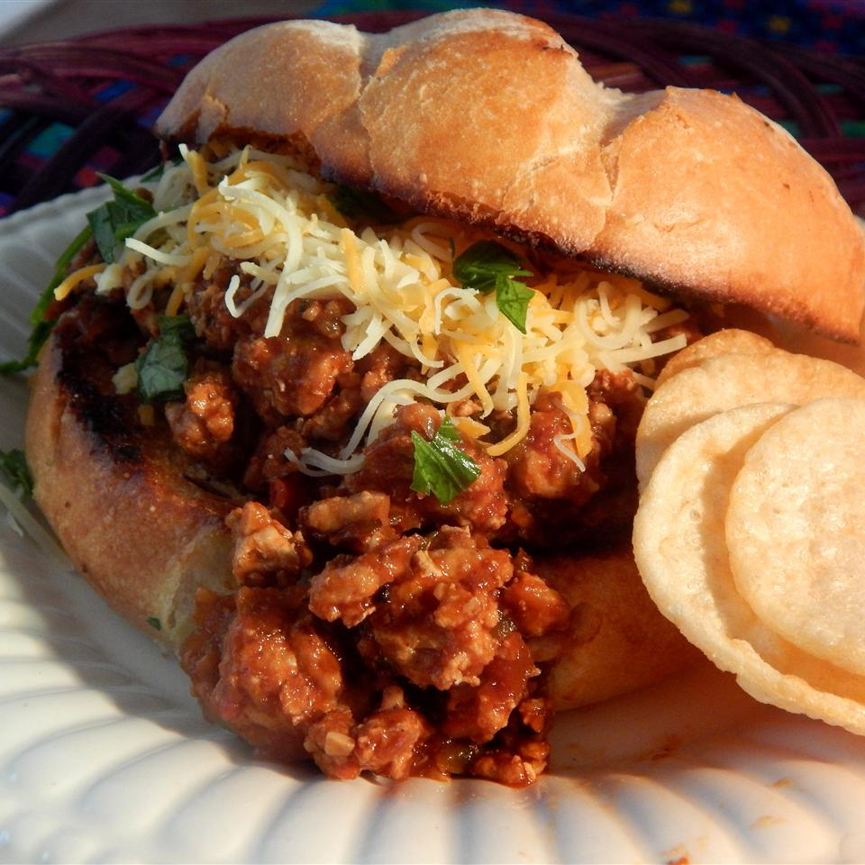 Sloppy Joe with Ground Turkey
