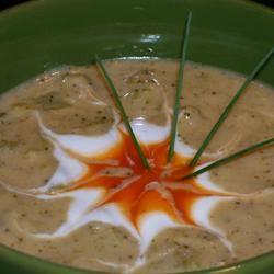 Cream of Broccoli Soup I Food Fan