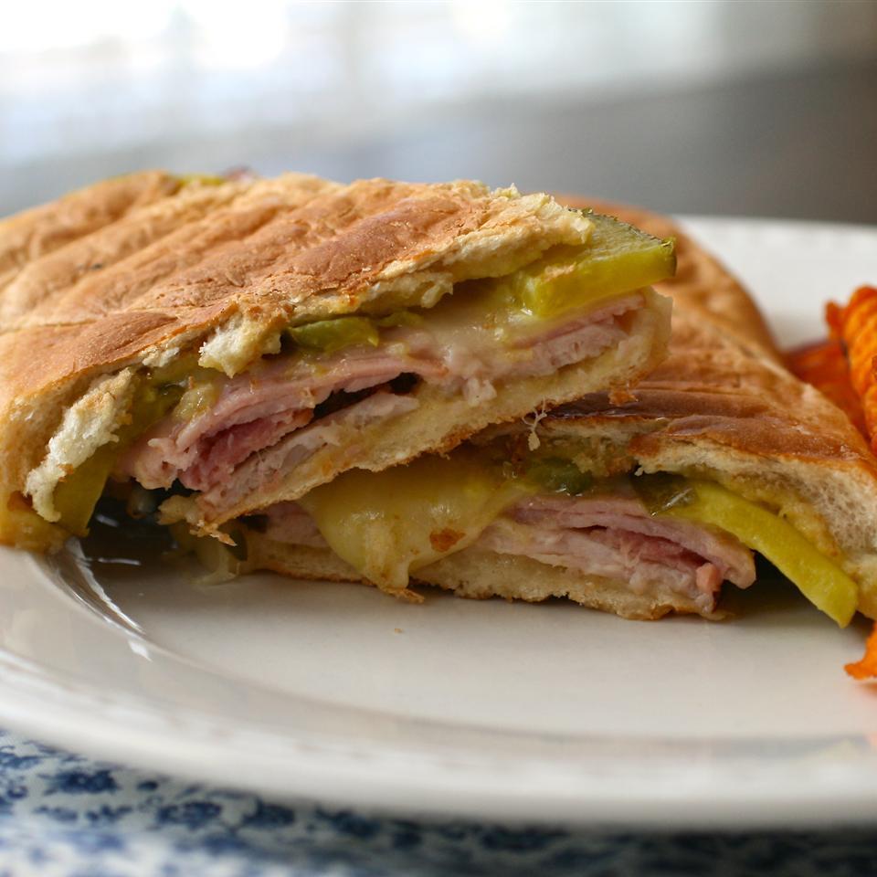 Grilled Turkey Cuban Sandwiches image
