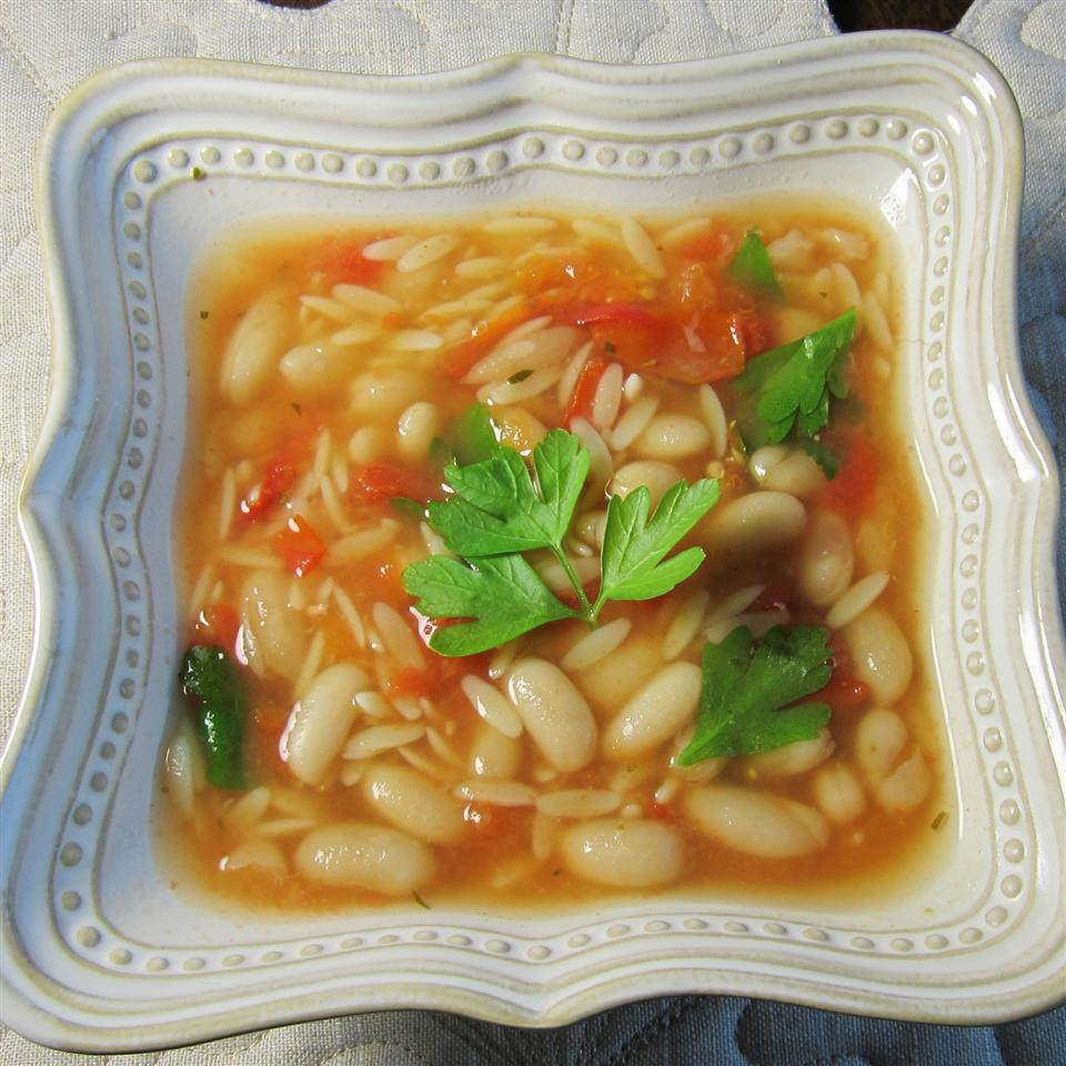 Chicken Soup With Pasta and White Beans Deb C