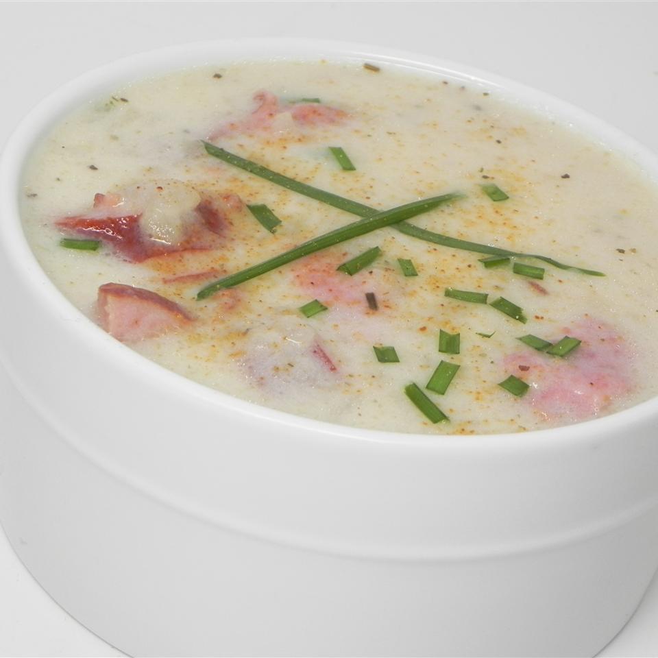 Creamy Potato Sausage Soup