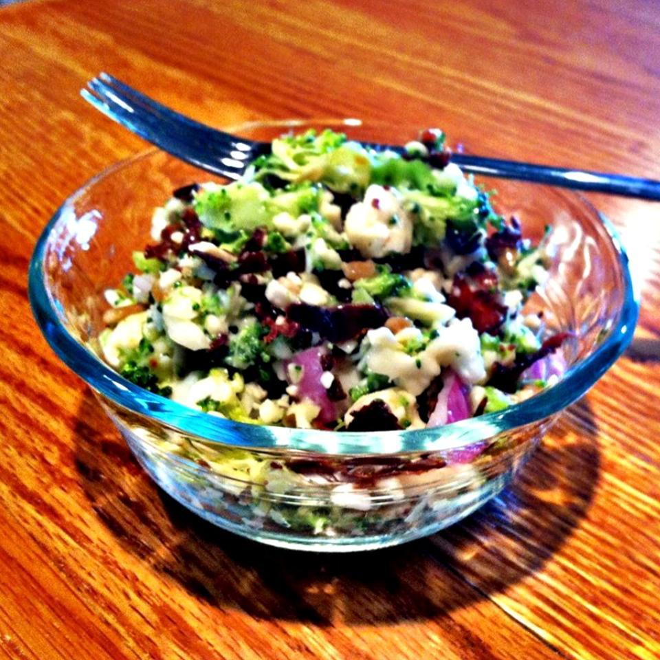 Bop's Broccoli Cauliflower Salad lovestohost