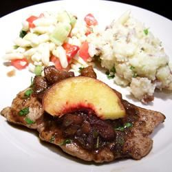 Apricot Chicken with Balsamic Vinegar Food Fan
