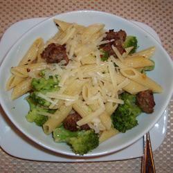 Broccoli and Sausage Cavatelli Mallinda