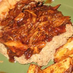 Zesty Slow Cooker Chicken Barbecue