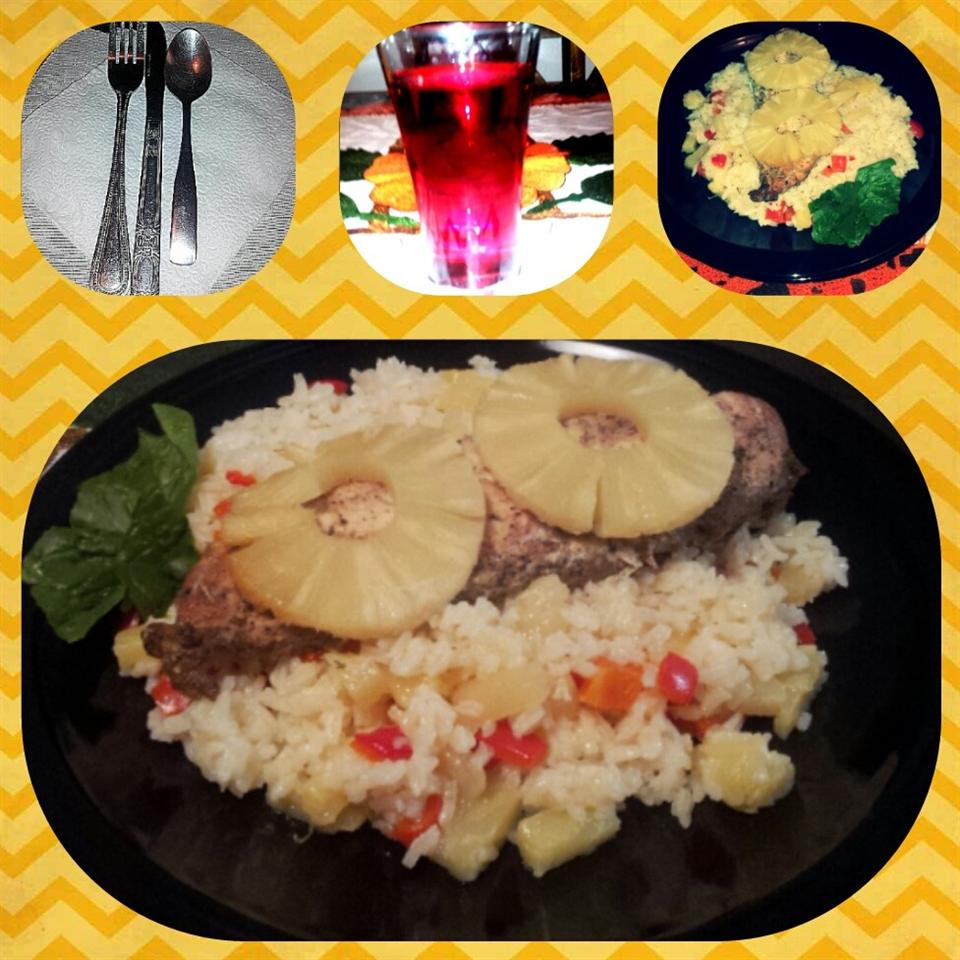 Pineapple Spiced Chicken and Rice Nancy-DIJ