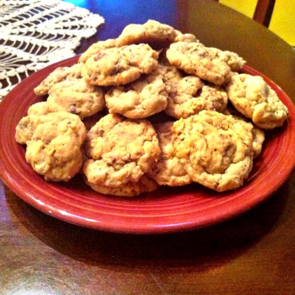 Peanut Butter Crunch Cookies image