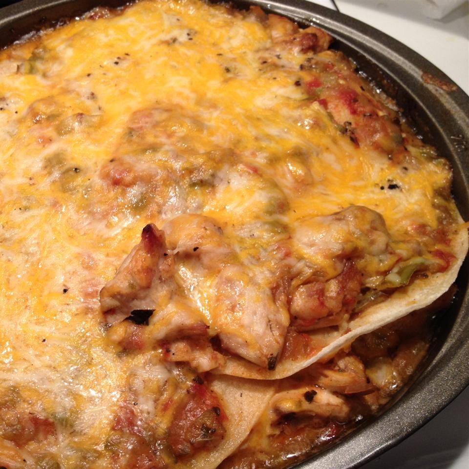 Hatch Chile Enchilada Pie Seth Kolloen