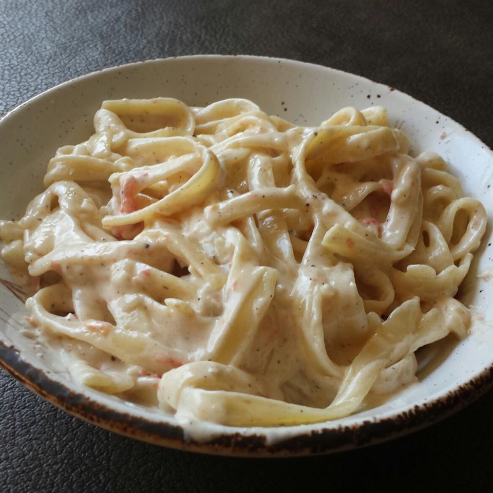 Habanero Pepper Cream Pasta STEFANIEMAGMAG