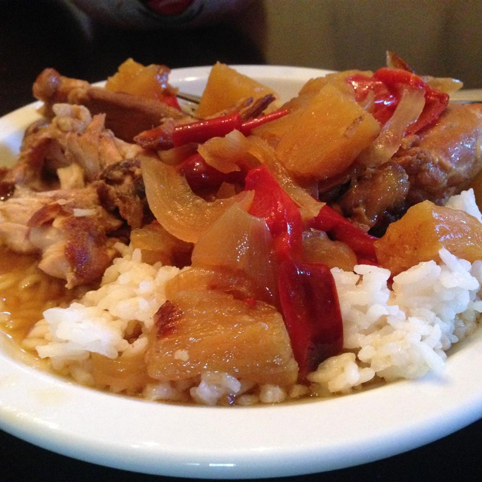 Take The Night Off Slow Cooker Pineapple Chicken Suziehomemaker
