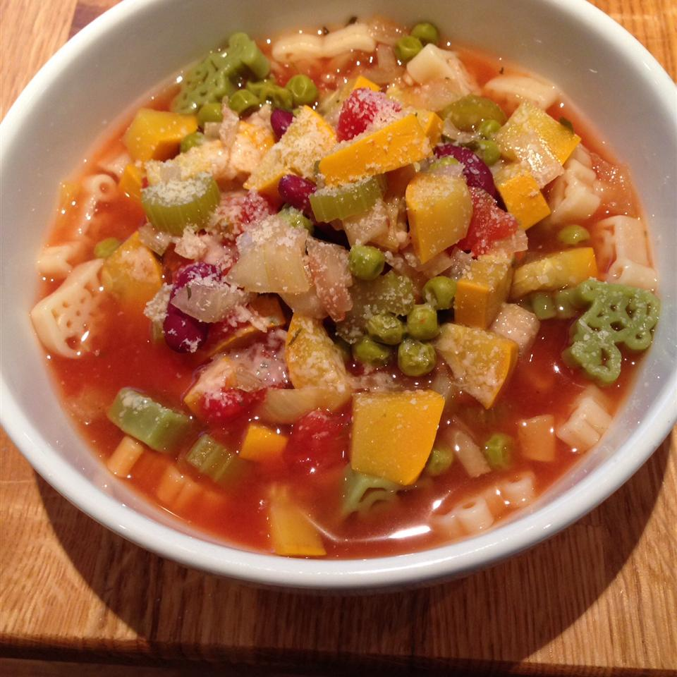 Slow Cooker Vegetarian Minestrone Recipe | Allrecipes