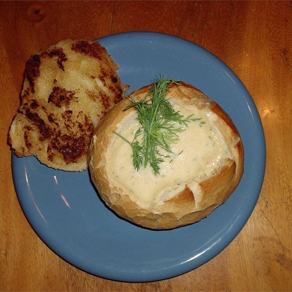 Cheesiest Potato Soup Lynn Warnock