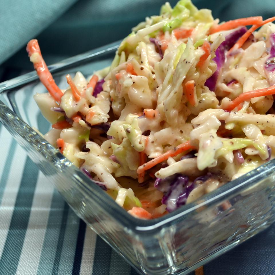 Creamy Spiced Coleslaw