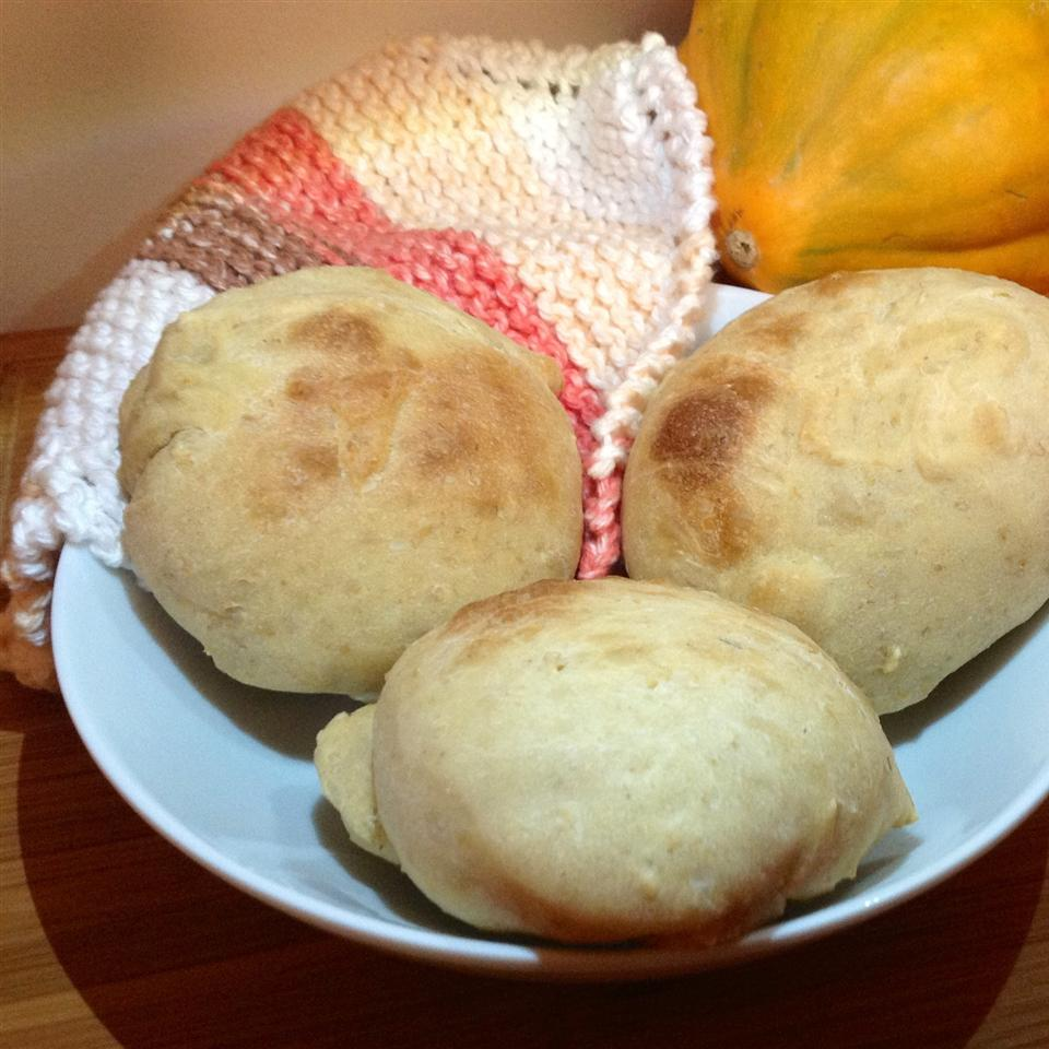 Oatmeal Rolls with Honey Butter trish1870