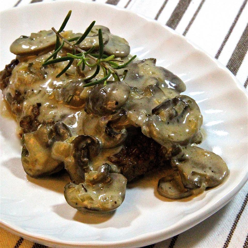 Mushroom Cream Gravy Sauce Amber D. Marcu